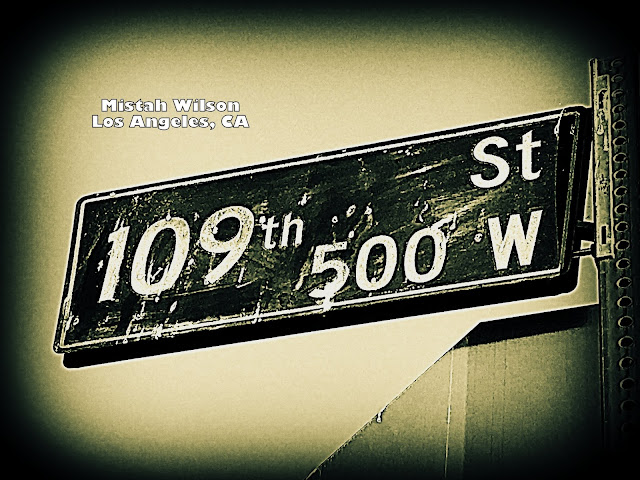 109th Street, Los Angeles, California by Mistah Wilson