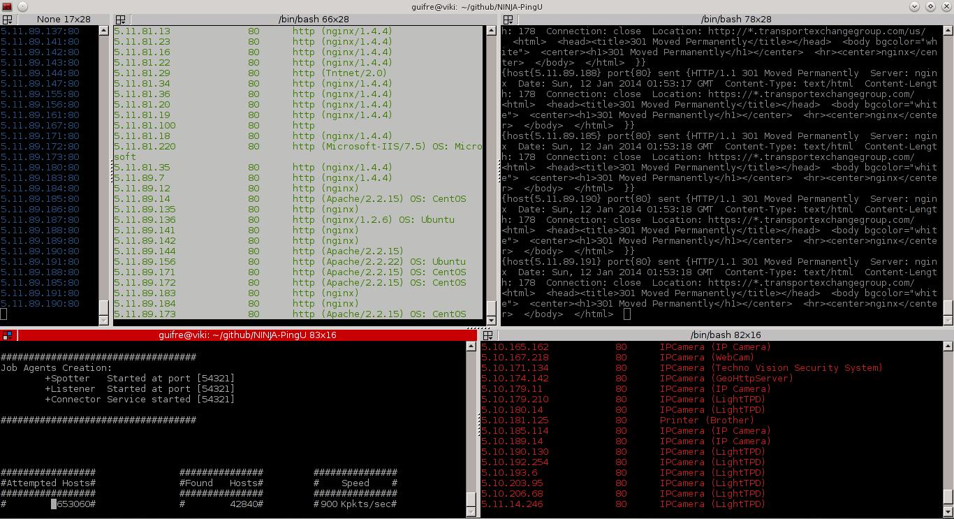 http://www.ehacking.net/2014/06/owasp-ninja-pingu-not-just-ping-utility.html