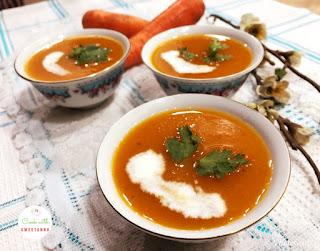 Ceamy Carrot Soup Recipe