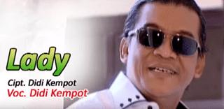 Lirik Lagu Lady - Didi Kempot