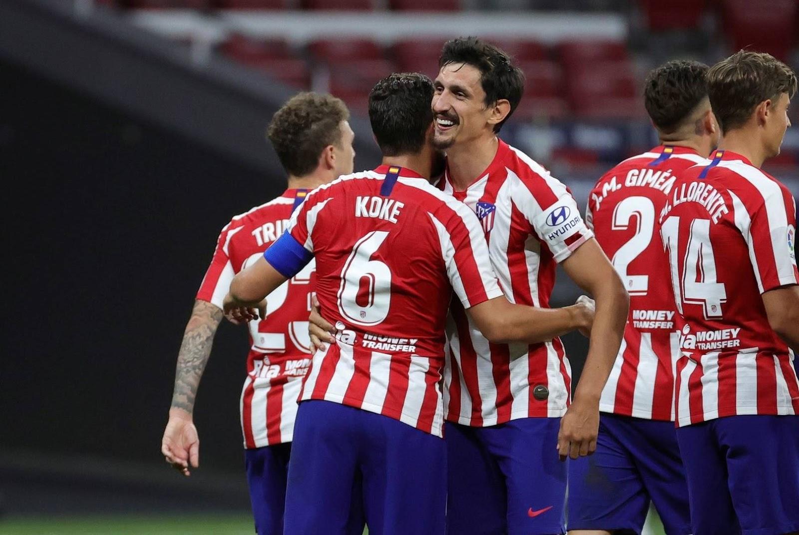 Atlético de Madrid goleó al Mallorca y se acerca a una nueva Champions League