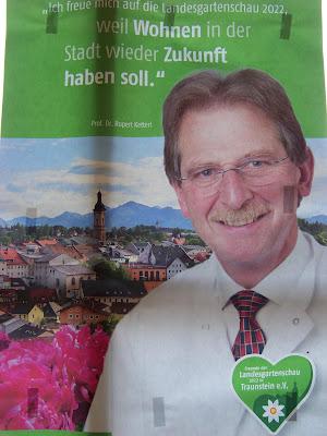 Prof. Dr. Rupert Ketterl zur Landesgartenschau Traunstein