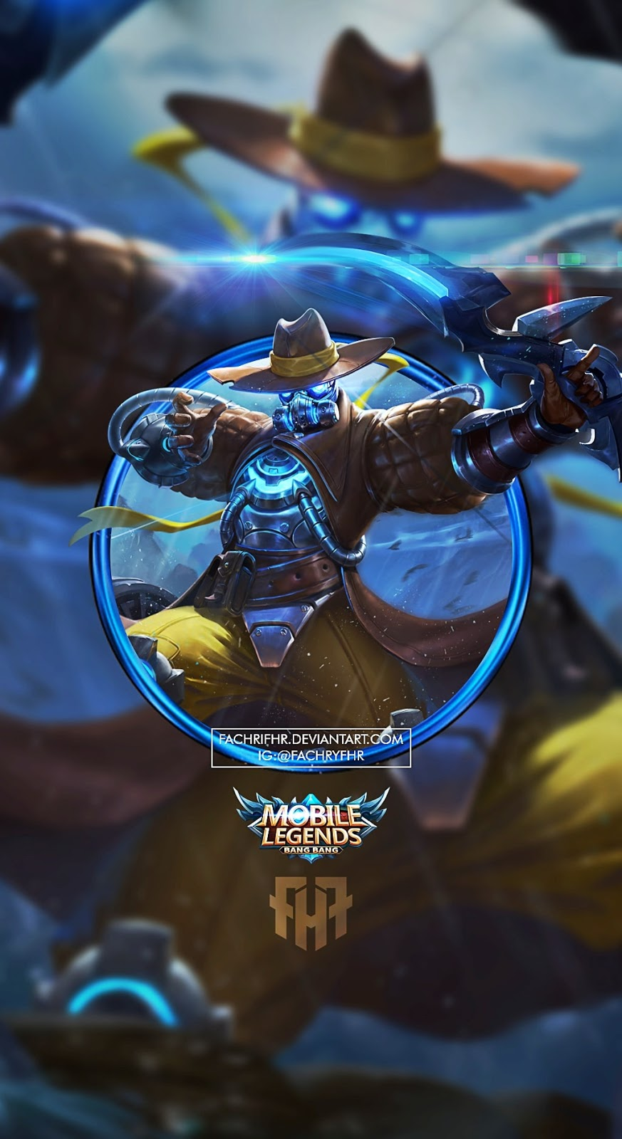 Wallpaper Yi Sun-Shin Roguish Ranger Skin Mobile Legends HD for Android and iOS