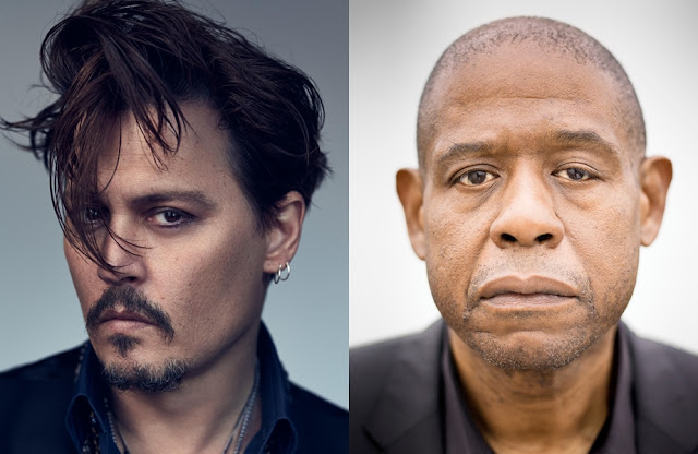 Johnny Depp e Forest Whitaker farão filme sobre assassinatos de 2Pac e Notorious B.I.G.