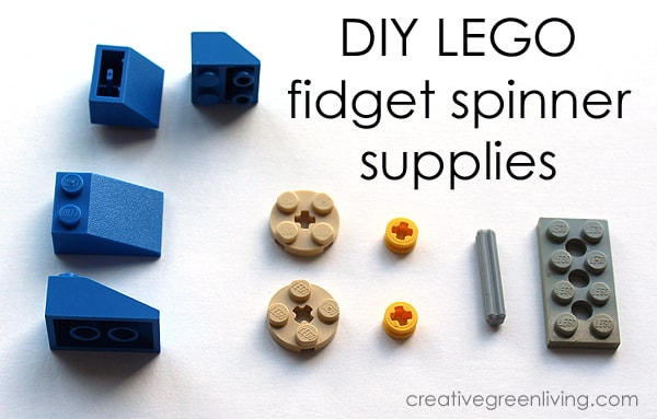 How to make a Lego Fidget Spinner - How to make a DIY fidget spinner with Legos