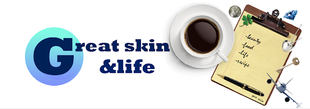 great skin&life blog header