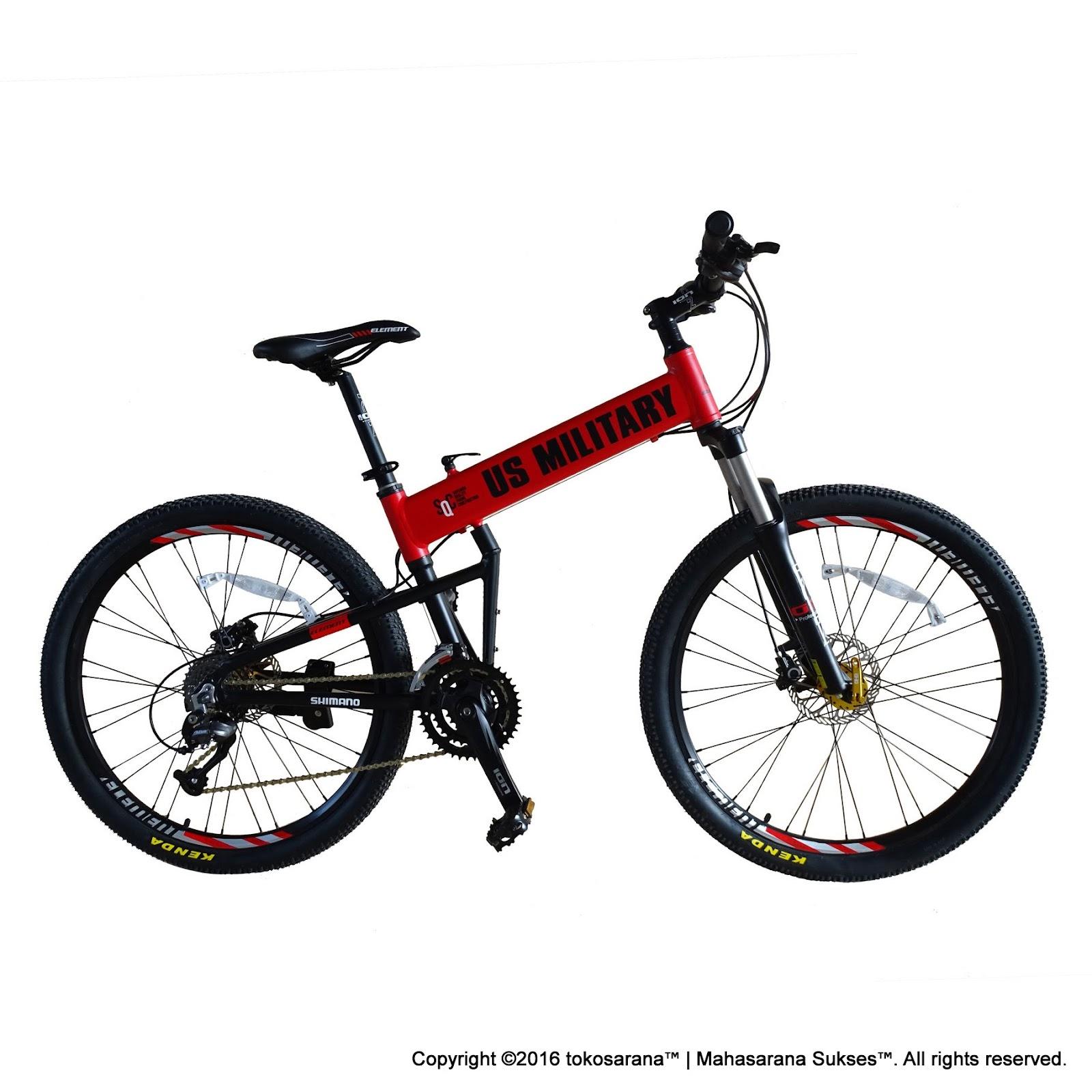 tokosarana™ | Mahasarana Sukses™: Sepeda Gunung Lipat