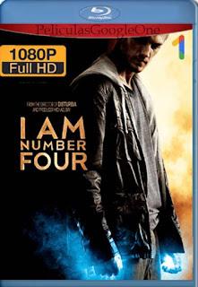 Soy El Numero Cuatro[2011] [1080p BRrip] [Latino- Ingles] [GoogleDrive] LaChapelHD