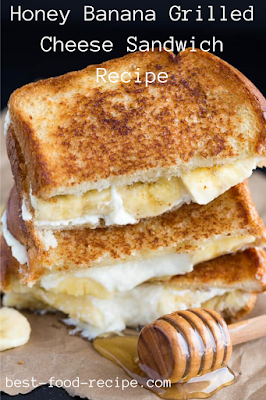 Honey Banana Grilled Cheese Sandwich Recipe