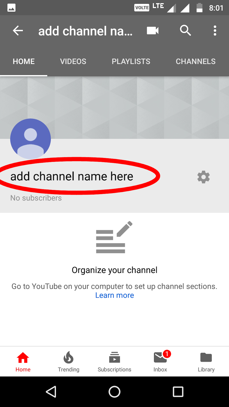 How to change YouTube channel name | Mobile phone से