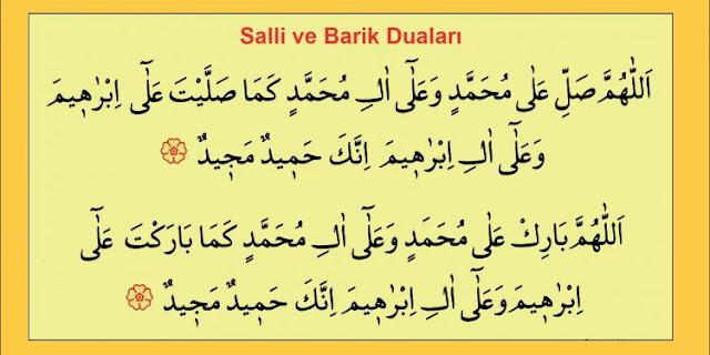 Allahümme Salli ve  Barik Duasının Okunuşu, Anlamı ve Fazileti