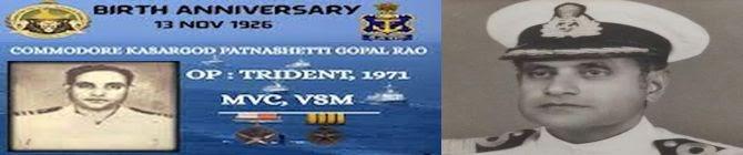 War Hero Commodore Kasargod Patnashetti Gopal Rao Who Bombarded Karachi Port In 1971 No More