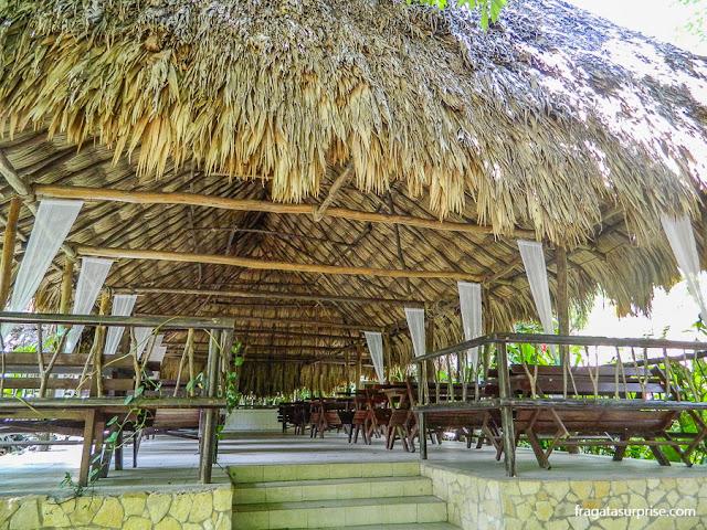 restaurante em Tikal, Guatemala