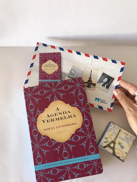 A Agenda Vermelha, de Sofia Lundberg, Porto Editora