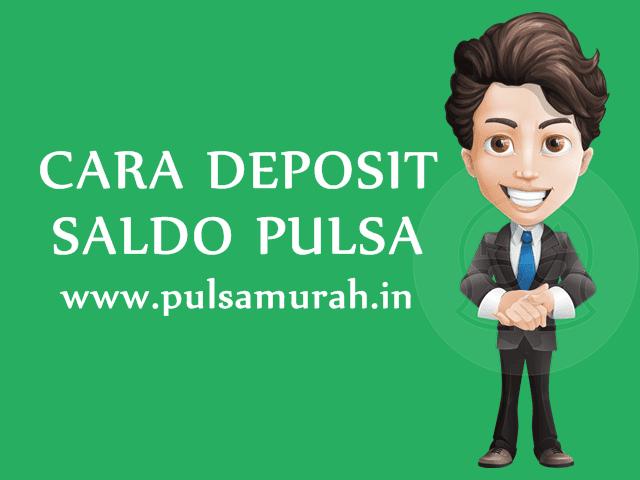 Cara Deposit / Mengisi Saldo Pulsa Murah di PulsaMurah.in