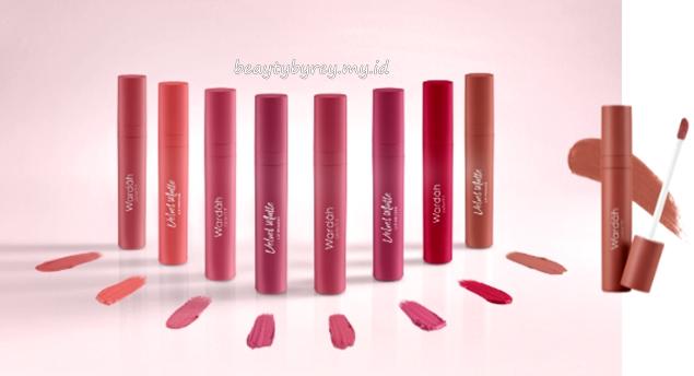Pilihan warna Wardah Colorfit Velvet Matte Lip Mousse