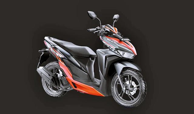 Warna Pilihan New Vario Sporty Black Red 2020