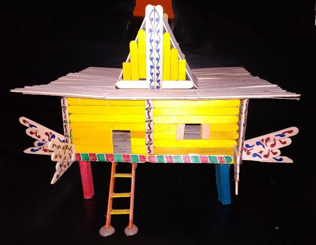 Torogan house model