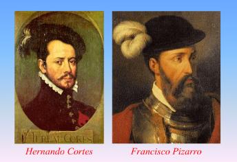 Cortez dan Pizzaro