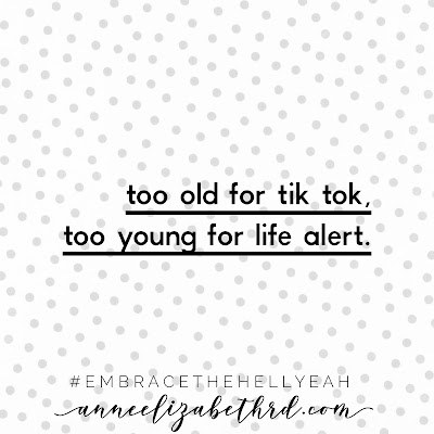 """""""Life is Short"""" in black print letters on a grey polka dot background"""