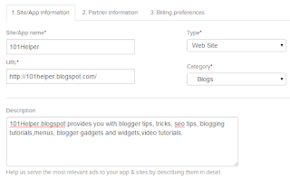 how to sign up for revenue hits account