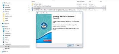 8 Cara instal aplikasi dapodikdasmen 2020 lengkap sampai selesai