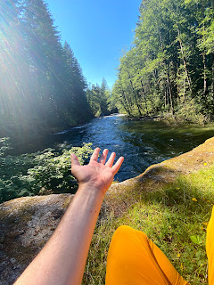 Foss River in the Mt. Baker-Snoqualmie National Forest