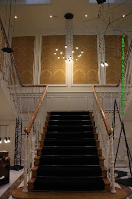 Staircase, Gran Melia Hotel Palacio de los Duques, Madrid, Spain