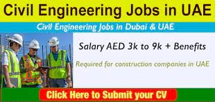 Construction Company Dubai, UAE Hiring Male & Female Candidates For  Civil Site Engineer Positions