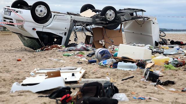 Φονική θεομηνία στη Χαλκιδική: Έξι τουρίστες νεκροί μέσα σε ελάχιστα λεπτά
