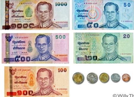 عملة تايلند
