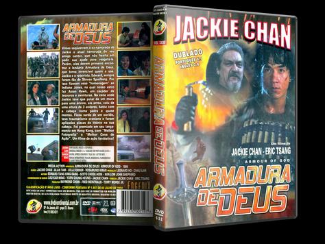 Capa DVD Armadura de Deus