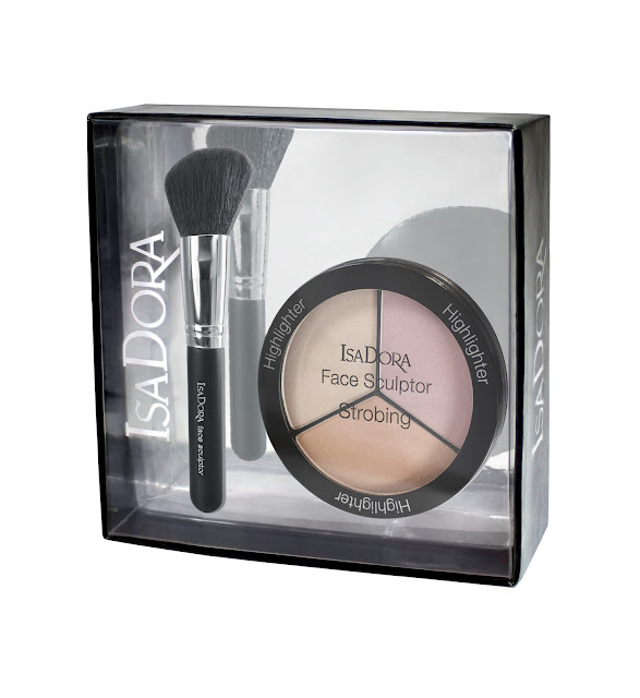 IsaDora Face Sculptor Strobing & Blush Brush