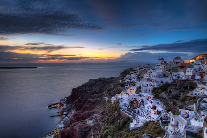 11. Santorini, Greece - 20 of The Best Places To Watch The Sunset
