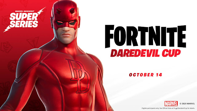 fortnite daredevil outfit skin chapter 2 season 4 nexus war marvel knockout super series free-to-play battle royale game epic games pc ps4 xb1