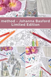 method ♥ Johanna Basford Limited Edition inkl. Gewinnspiel