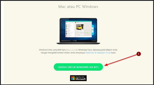 aplikasi wa web hadir untuk pc dan mac