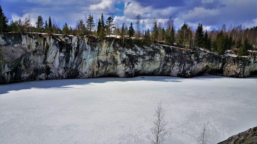 Ruskeala Mountain Park Russia