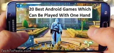 20 Best Android Games Which Can Be Played With One Hand