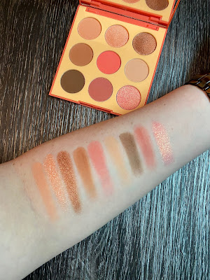 Review and Swatches: Morphe 9E Pretty in Peach Palette