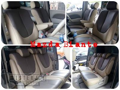 Jok Kulit Mazda Biante