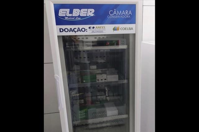 Ituaçu recebe Refrigerador Científico da Coelba para armazenamento de vacinas