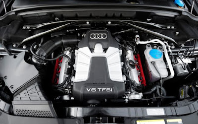 New Audi Q5 SUV Engine pics