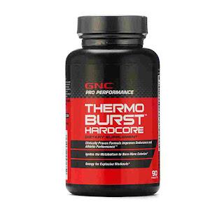 GNC Thermoburst Hardcore (Thermogenic Fat Burner):