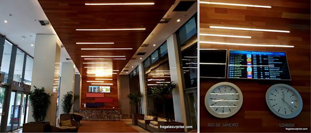 Lobby do Hotel Prodigy Aeroporto Santos Dumont