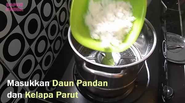 Tutorial Membuat Klepon Pandan - Dapur Nadda 1