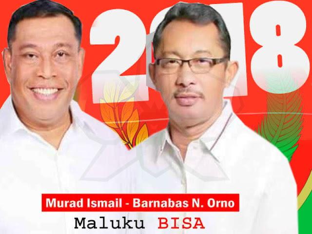Murad Ismail dan Barnabas Orno Siap Melayani Masyarakat