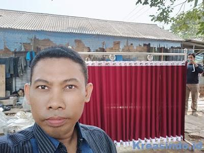 Repeat Pemabatas Shaf Sholat Stainless pesanan PT Kereta Commuter Indonesia