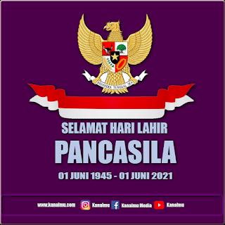 poster selamat memperingati hari lahir pancasila png psd - kanalmu