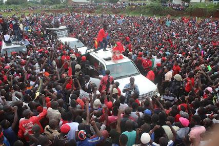 VIDEO: Bobi Wine campaign sets record in Iganga District